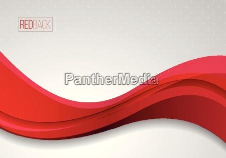 fundo vermelho e branco ondulado do
