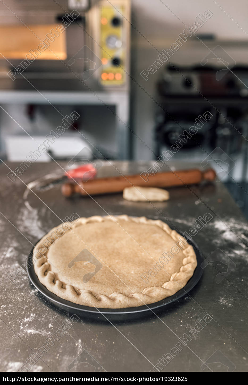 massa, de, pão, preparada, da, pizza - 19323625