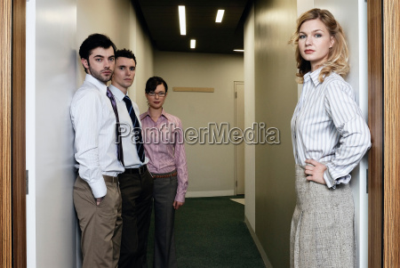2 women and 2 men in