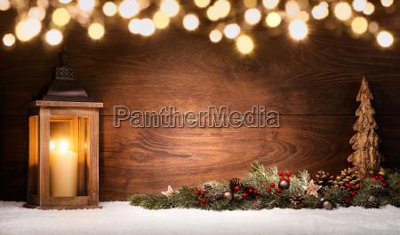 arranjo do natal com lanterna decoracoes
