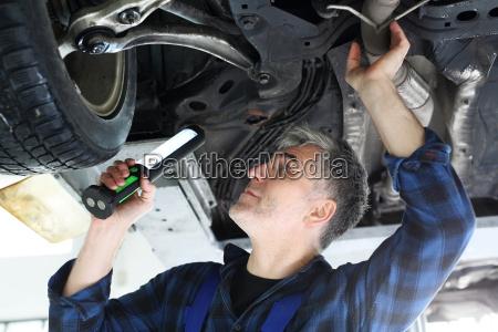 estacao de inspecao do veiculo carro