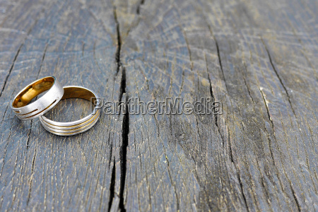 wedding and the wedding rings