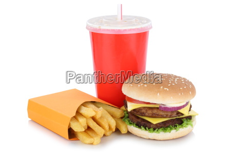 duplo cheeseburger hamburger menu com batata