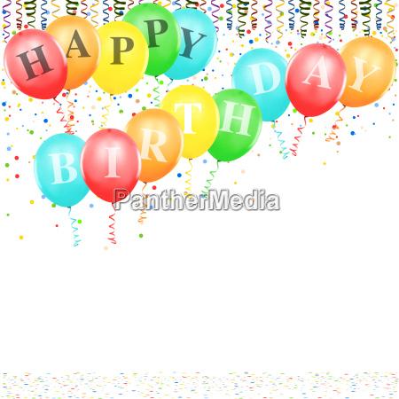 baloes do feliz aniversario