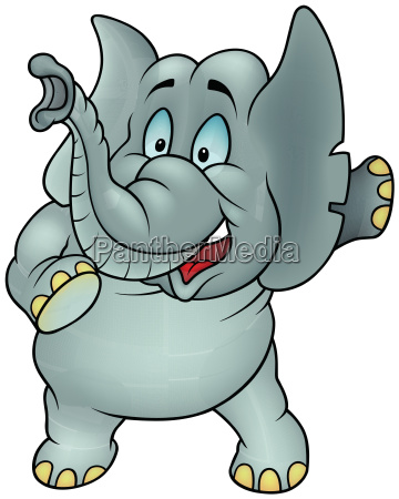animal elefante desenho animado