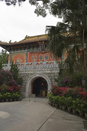 po lin monastery lantau island hong