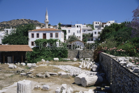 site of the mausoleum of halicarnassus