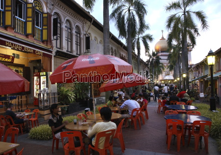 kampung glam e uma area animada