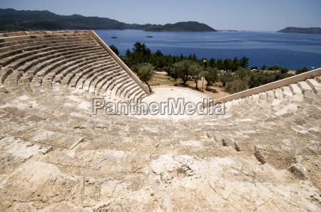 the amphitheatre at kas the only