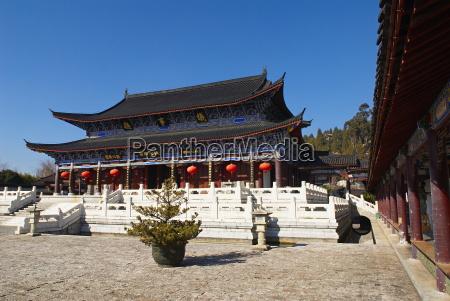 mu family residence city of lijiang