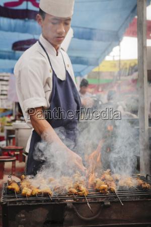 pessoas povo homem alimento homens asia