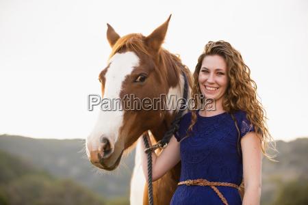 risadinha sorrisos cavalo animal retrato ao