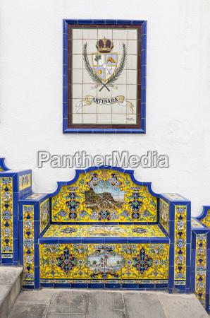 azul escrever passeio viajar simbolico espanha