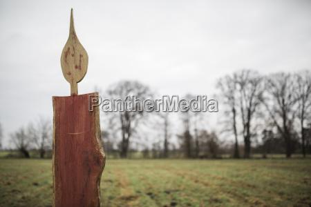 alemanha brandenburg velas de madeira desproporcionado