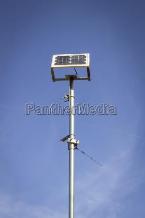 spain formentera pilhas solares na frente