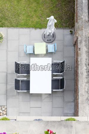 alemanha terraco com mobiliario de jardim