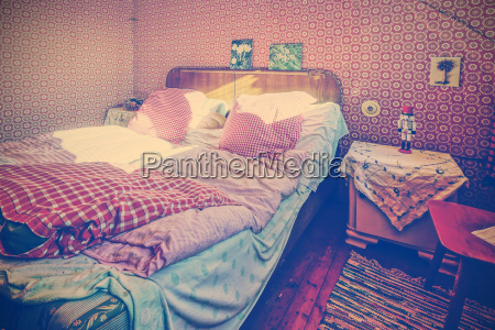 mobiliario espaco cama nostalgia alemanha fotografia