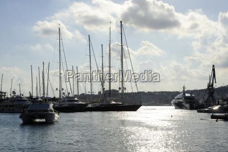 spain mallorca palma sailing boat in