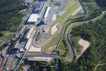 alemanha renania palatinado nuerburgring vista aerea