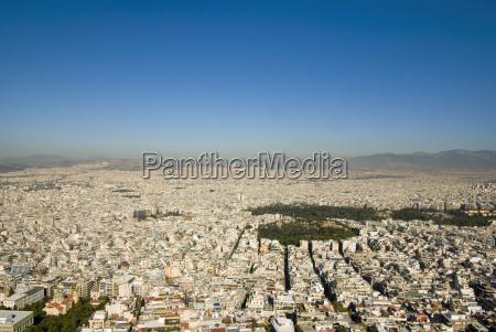 greece atenas vista aerea