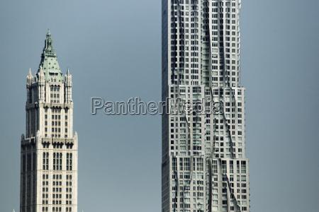 cidade vida da cidade moderno contraste