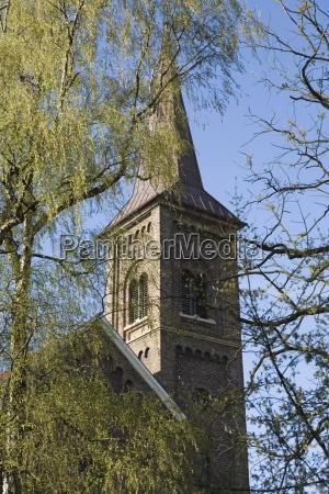 germany north rhine westphalia kaiserwerth church