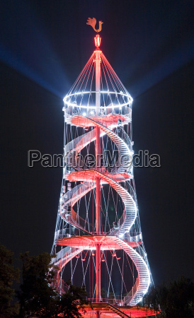 torre passeio viajar cidade parque europa