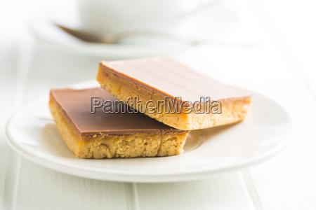 sweet caramel dessert