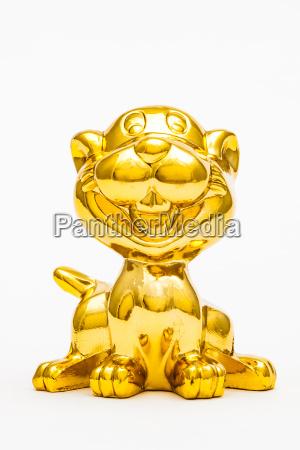 liberado animal estatua gato tigre brinquedo