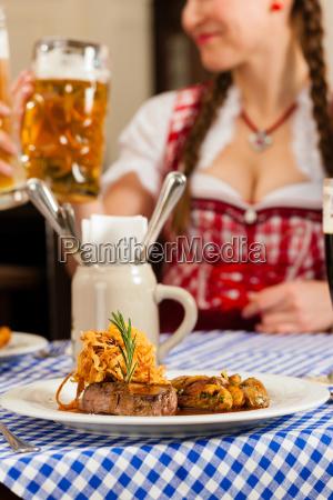 povos, em, tracht, bávaro, tradicional, que - 21475855