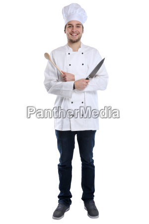 cook jovem trainee trainee cozinhar corpo