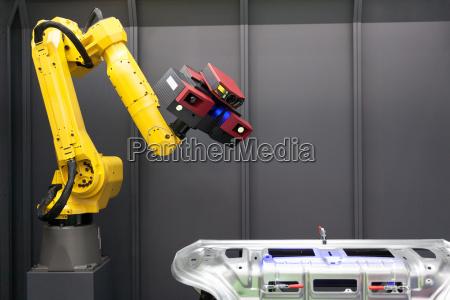 tecnologia robo maquina