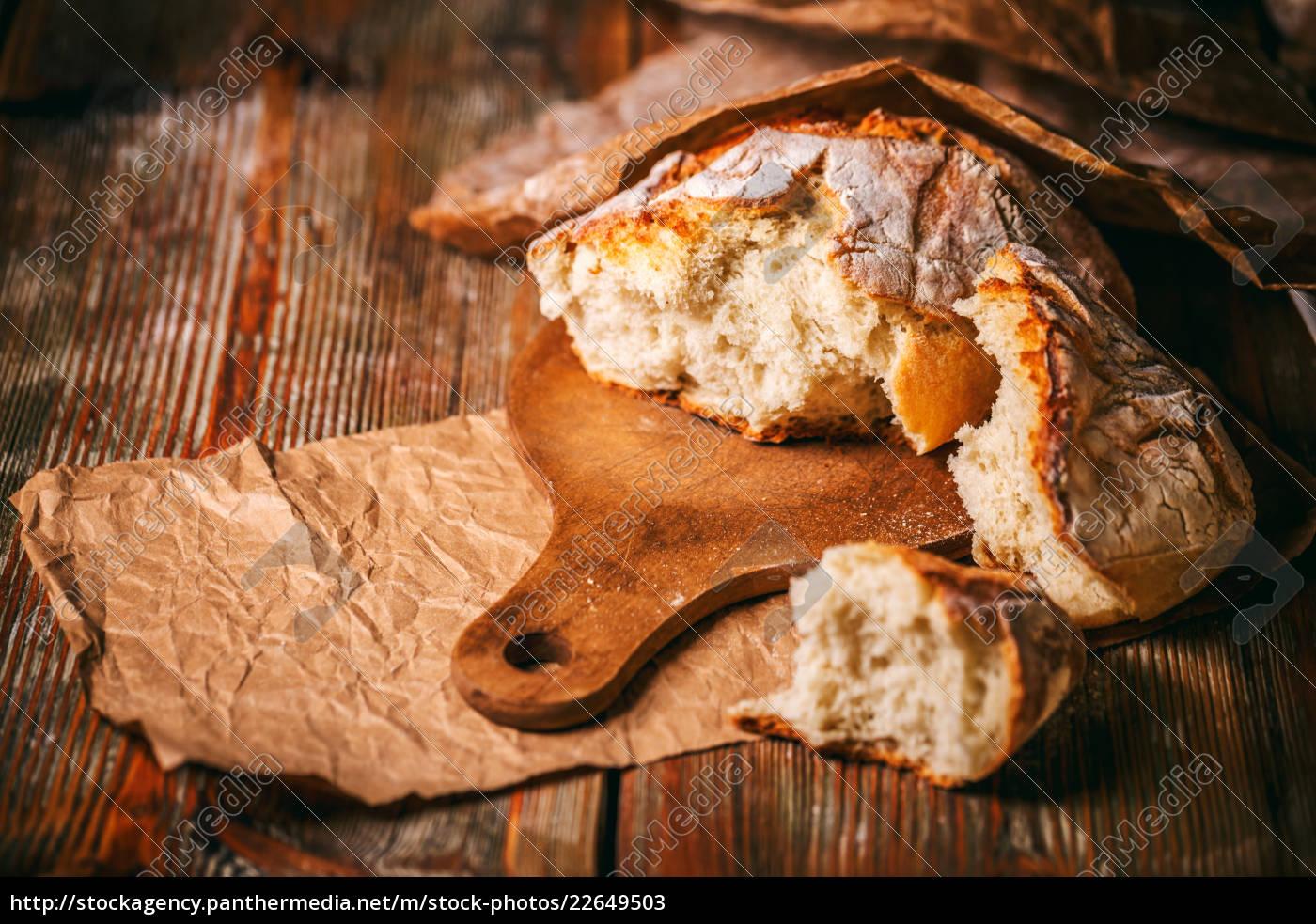 pão, de, cereal, crocante - 22649503