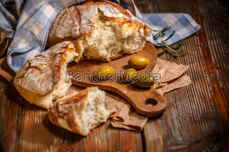 traditional, white, bread - 22649517