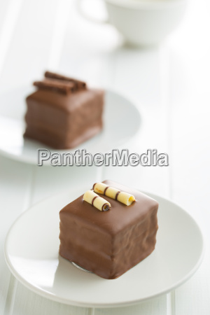 sweet chocolate dessert
