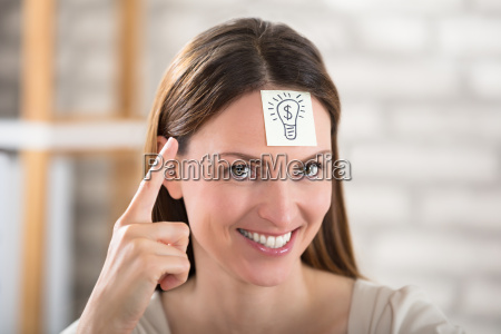 close up of a businesswoman with