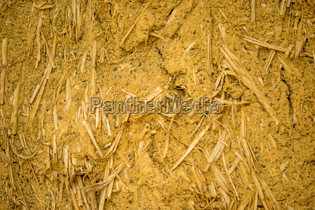 detalhes palha argila construir construcao estrutura