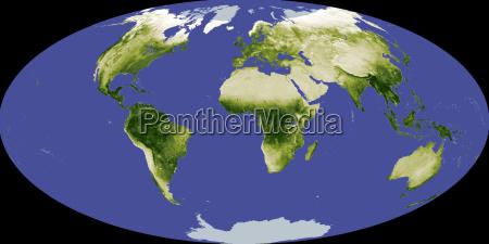 espaco asia artico africa europa australia