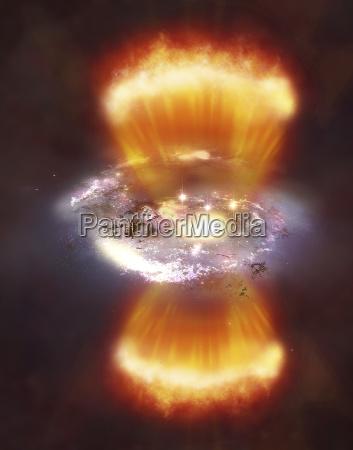 projeto espaco universo ilustracao ao ar