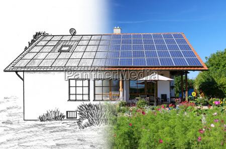 casa construcao projeto desenho foto solar