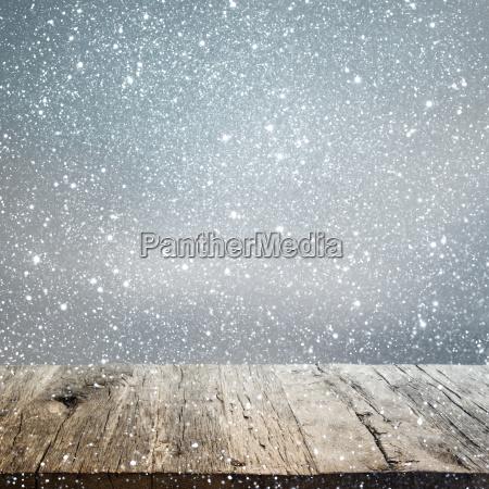 fundo abstrato do inverno com uma