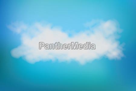 realistic vector image of speech cloud