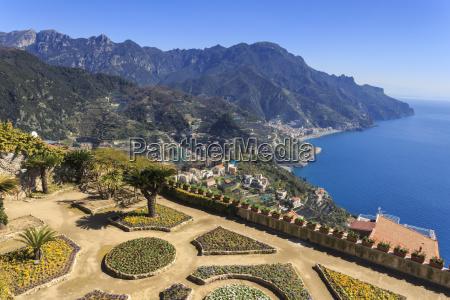 belvedere stunning gardens of villa rufolo