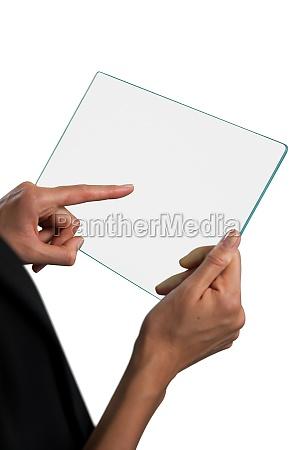 mulher vidro copo de vidro carreira