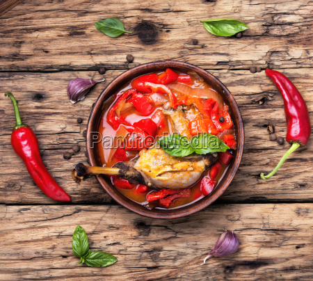 lecso dish of hungarian cuisine