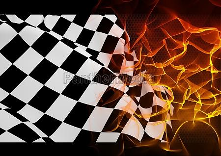grafico negro reparacao ilustracao metal calor