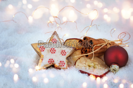 inverno advento decoracao ingredientes assar fragrancia