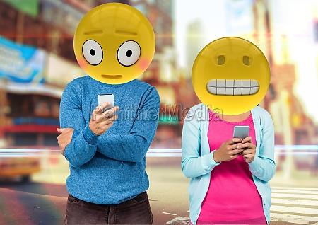 frases erradas no whatsapp rosto emoji