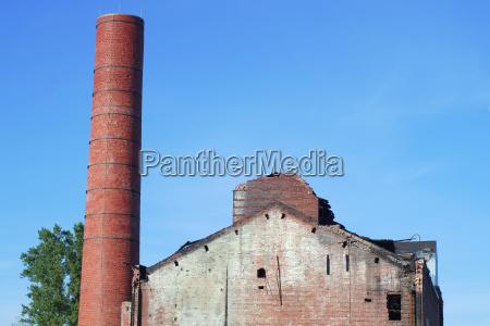 ruina fogo tijolo desastre dano demolida