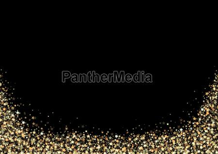 fundo luxuoso com estrelas do ouro